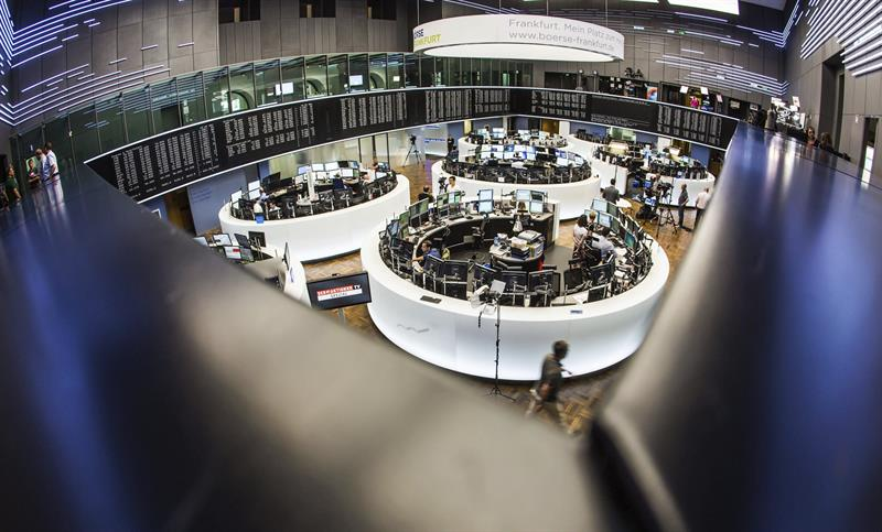 The DAX 30 of the Frankfurt Stock Exchange rises 0.50%